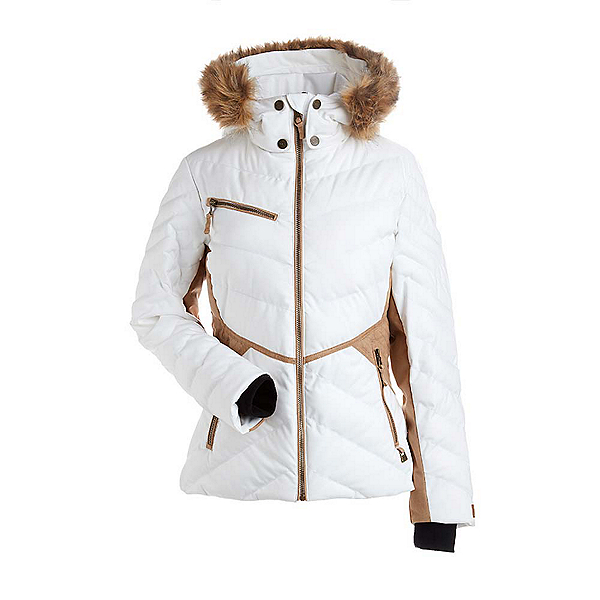 NILS Anna w/Faux Fur Womens Insulated Ski Jacket, , 600