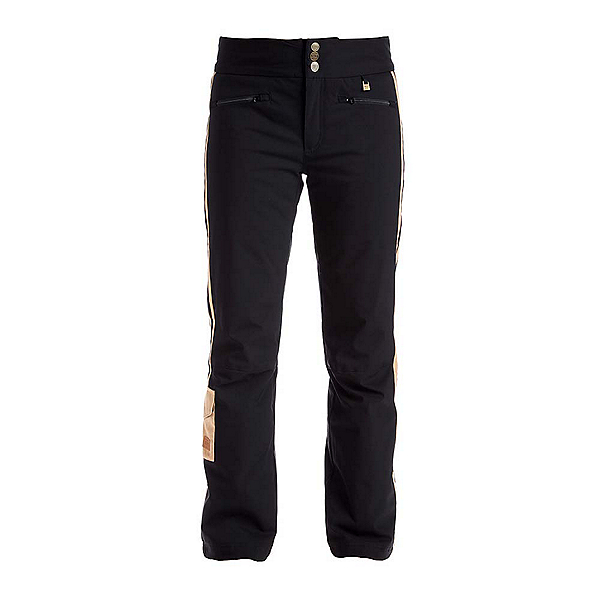 NILS Addie Womens Ski Pants, Black-Caramel, 600