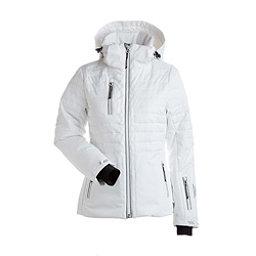 NILS Bethany - Petite Womens Insulated Ski Jacket, White, 256
