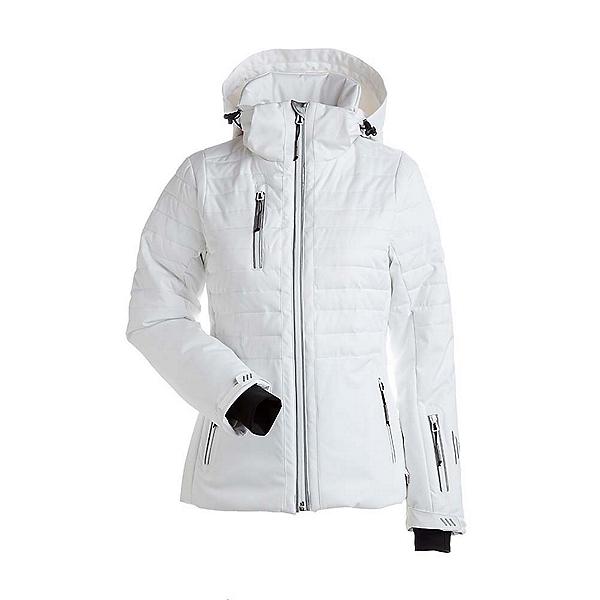 NILS Bethany - Petite Womens Insulated Ski Jacket, White, 600