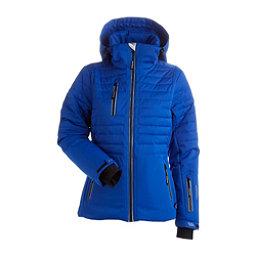 NILS Bethany - Petite Womens Insulated Ski Jacket, Blue Blaze, 256