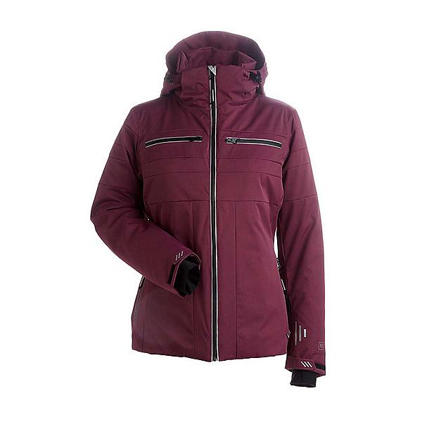 NILS Britta Womens Insulated Ski Jacket 2018, Merlot, 600