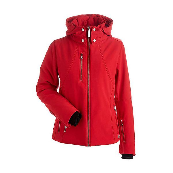 NILS Kassandra Womens Insulated Ski Jacket, Red, 600