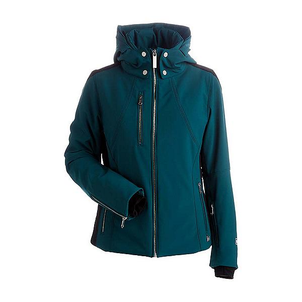 NILS Kassie Womens Insulated Ski Jacket, Forest Green-Black, 600
