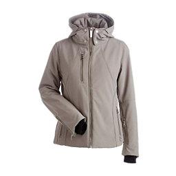 NILS Kassandra - Petite Womens Insulated Ski Jacket, Mushroom, 256