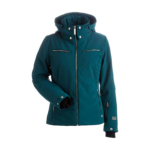 NILS Kristen Womens Insulated Ski Jacket, Forest Green, 600