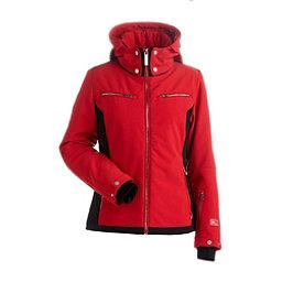 NILS Kristi Womens Insulated Ski Jacket, Red-Black, 256