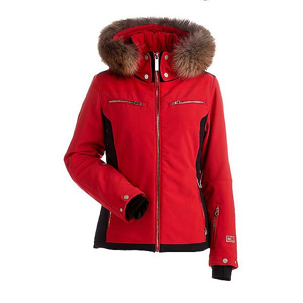 NILS Kristi Real Fur Womens Insulated Ski Jacket, , 600