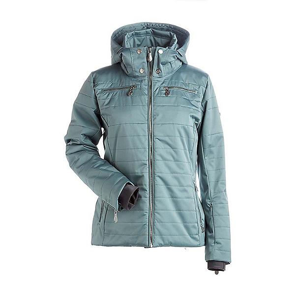 NILS Ingrid Womens Insulated Ski Jacket, Celadon, 600