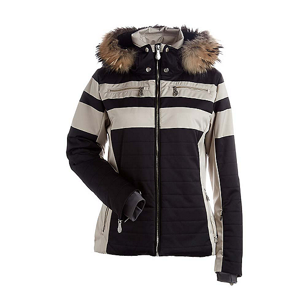 NILS Ida Real Fur Womens Insulated Ski Jacket, , 600