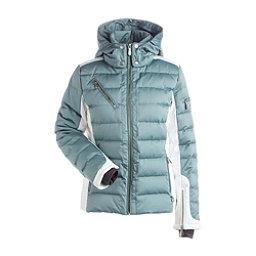 NILS Ula Womens Insulated Ski Jacket, Celadon-Winter White, 256