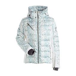 NILS Ula Womens Insulated Ski Jacket, Fjord Print-Winter White, 256