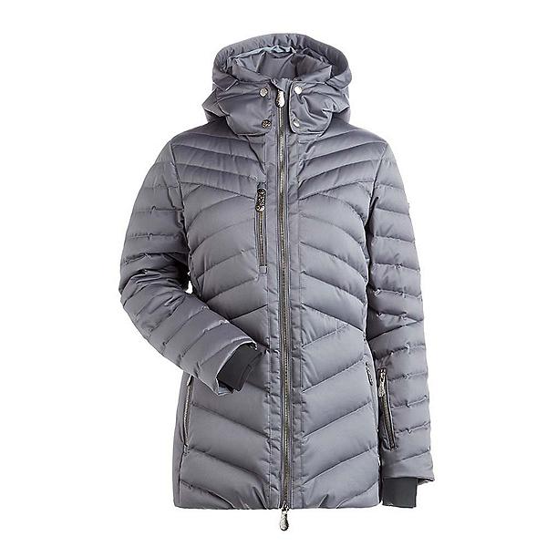 NILS Sonja Womens Insulated Ski Jacket, Steel Grey, 600