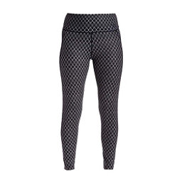 NILS Jenni Print Legging Womens Long Underwear Pants, Black White Geo Print, 256