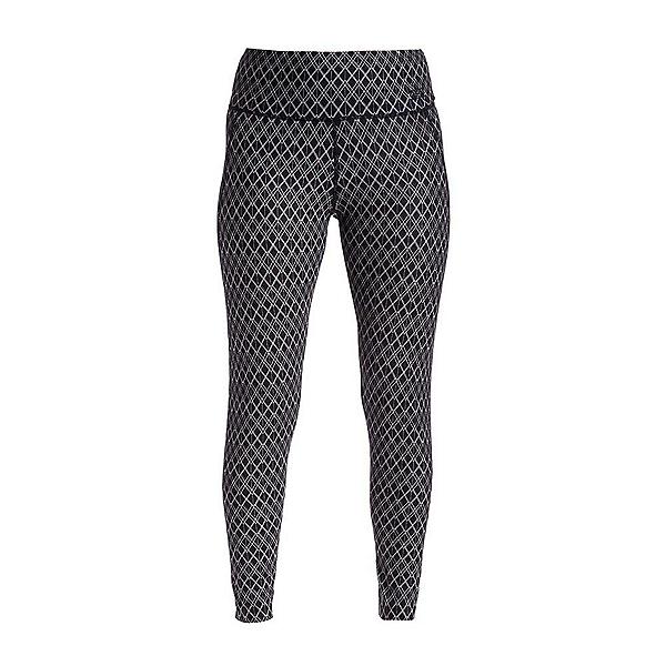 NILS Jenni Print Legging Womens Long Underwear Pants, Black White Geo Print, 600