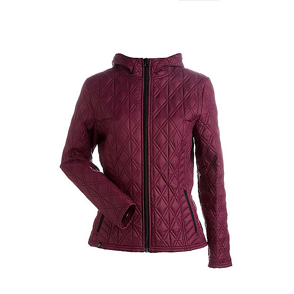 NILS Cody Womens Jacket, Merlot, 600