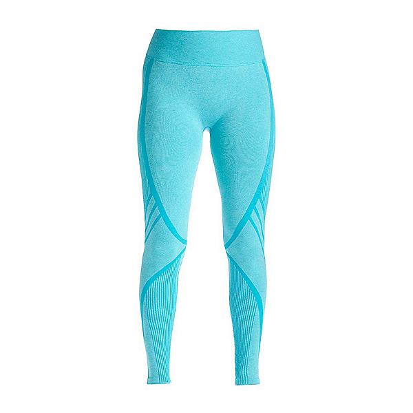 NILS Cathy Legging Womens Long Underwear Pants, Turquoise Heathered, 600