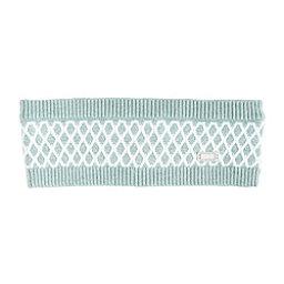 NILS Sig Womens Headband, Celadon-Winter White, 256