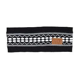 NILS Lili Womens Headband, Black-White, 256