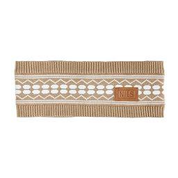NILS Lili Womens Headband, Caramel-White, 256
