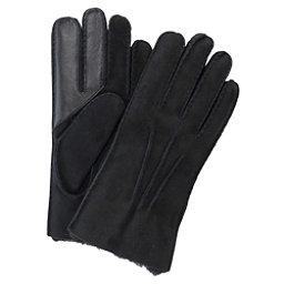 UGG Sheepskin Smart Mens Gloves, Black, 256