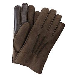 UGG Sheepskin Smart Mens Gloves, Chocolate, 256