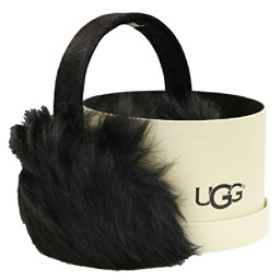 UGG Leopard Wired Earmuff Womens Hat, Black, 256