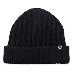 UGG Ribbed Cuff Mens Hat, Black, 256