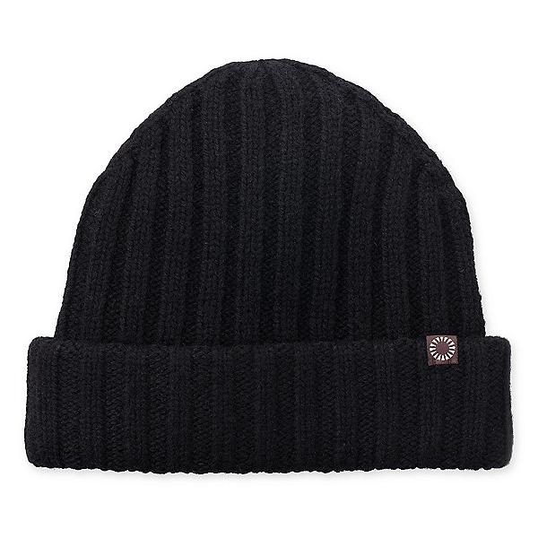 UGG Ribbed Cuff Mens Hat, Black, 600