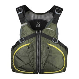 Stohlquist Ebb Adult Kayak Life Jacket 2018, Green, 256