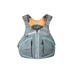 Stohlquist Cruiser Womens Kayak Life Jacket 2018, Gray, 256