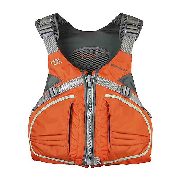Stohlquist Cruiser Womens Kayak Life Jacket 2019, Orange, 600