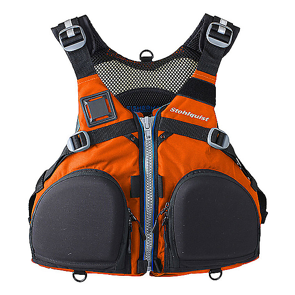 Stohlquist Fisherman Fishing Kayak Life Jacket 2020, Orange, 600
