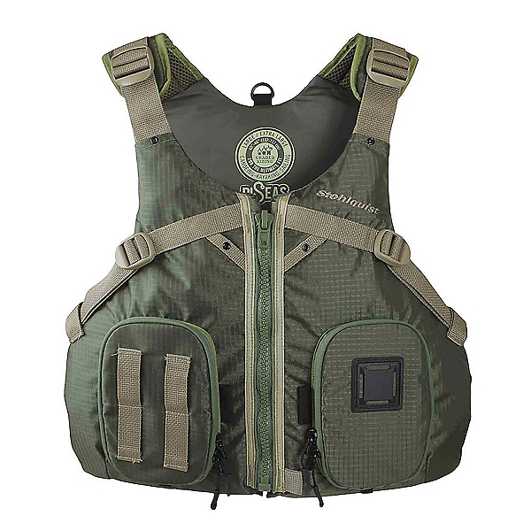 Stohlquist Piseas Fishing Kayak Life Jacket 2020, Grass Green, 600