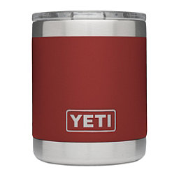 YETI Rambler Lowball with Lid, Brick Red, 256