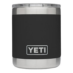 YETI Rambler Lowball with Lid, Black, 256