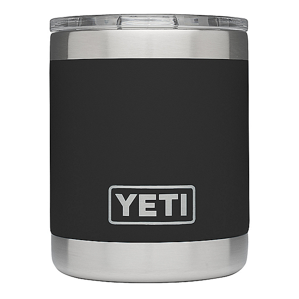 YETI Rambler Lowball with Lid, Black, 600