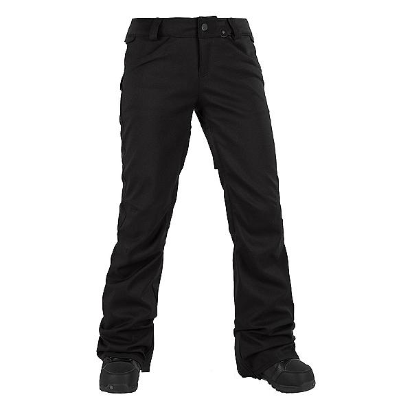 Volcom Species Stretch Womens Snowboard Pants, Black, 600