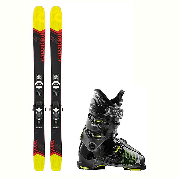 Rossignol Soul 7 HD Waymaker 110 Ski Package 2018, , 600