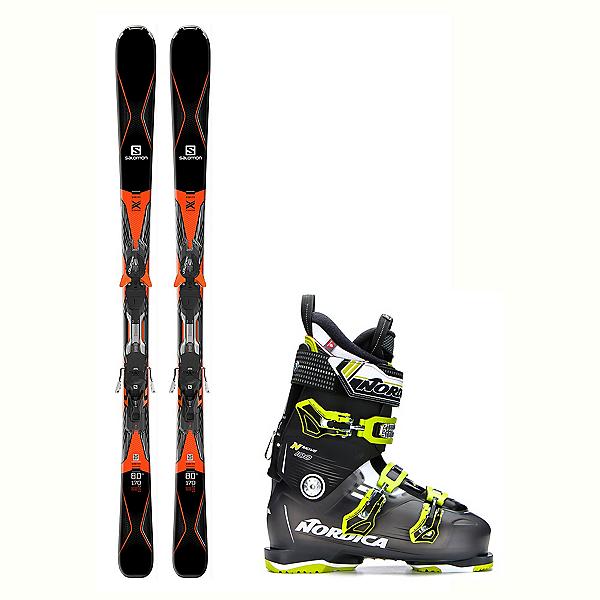 Salomon X-Drive 8.0 Ti N-Move 100 Ski Package 2018, , 600