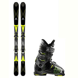 Salomon X-Drive 8.3 Waymaker 110 Ski Package 2018, , 256