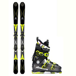 Salomon X-Drive 8.3 N-Move 100 Ski Package 2018, , 256