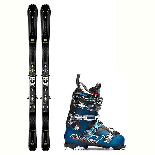 Salomon X-Max X14 Carbon NRGy Pro 2 Ski Package 2018, , 600