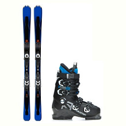Salomon XDR 75 X-Access 70 Wide Ski Package 2018, , 256