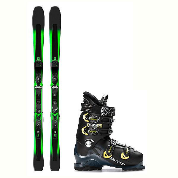 perditi daltro canto, prima colazione  Salomon XDR 78 ST X-Access 80 Wide Ski Package 2018