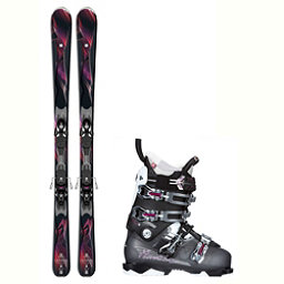 Salomon Gemma NXT N2W Womens Ski Package 2018, , 256