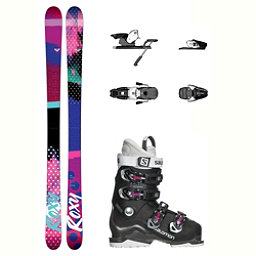 Roxy Ily X-Access 60 Wide Womens Ski Package 2018, , 256