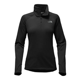 The North Face Borod 1/4 Zip Womens Shirt, TNF Black, 256