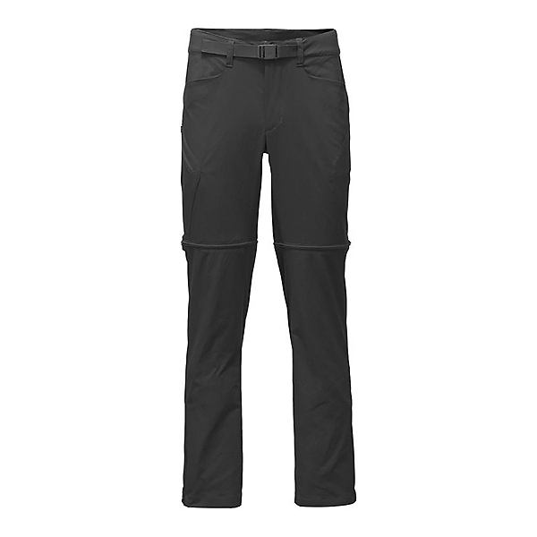 The North Face Mens Straight Paramount 3.0 Convertible Pants, Asphalt Grey, 600