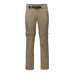 The North Face Mens Straight Paramount 3.0 Convertible Pants, Dune Beige, 256